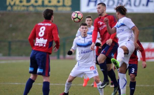 Kamel Bennekrouf a joué son premier match avec l'ASF Andrézieux (crédit : S. Popakul, ASF Andrézieux)