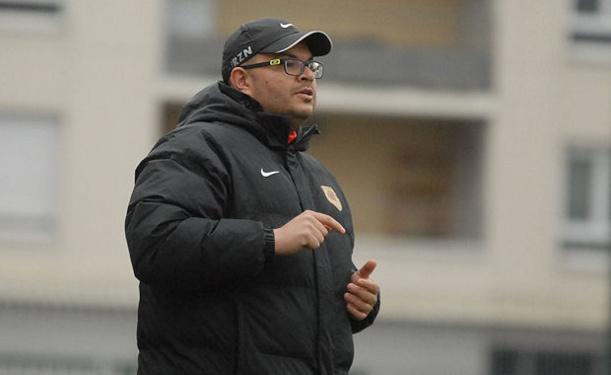 Mohamed Métoui, l'entraîneur des U19 de Lyon-Duchère AS...