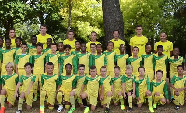 U11 - U13 - Le FC NANTES rend visite au FC BORDS de SAÔNE