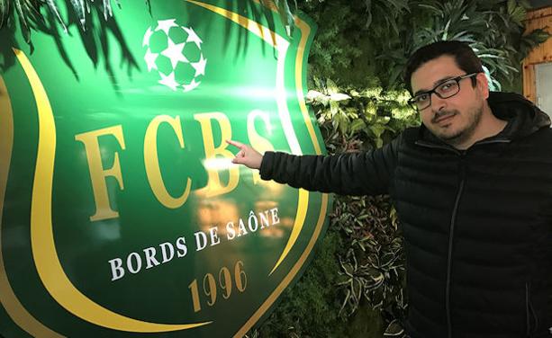 Lakhdar Touati, vice président et cheville ouvrière du FC Bords de Saône