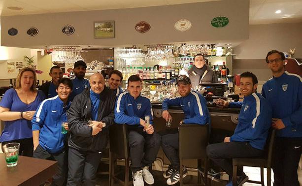 Les Limonois n'ont pas fait de tourisme en Corse et sont vite rentrés dans leur antre à La Pièce du Boucher de Limonest pour la troisième mi-temps victorieuse