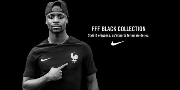 Maillot EDF - La collection BLACK NIKE disponible chez ESPACE FOOT !