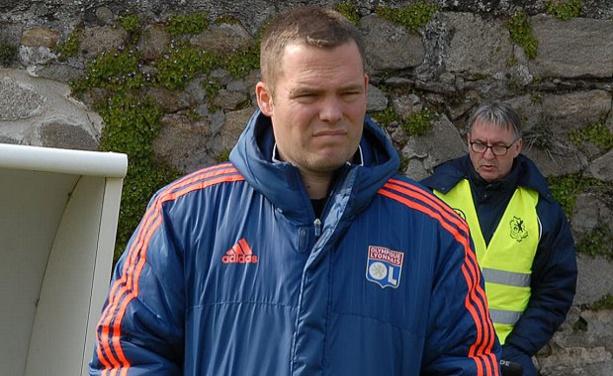 Olivier Dumas, le coach de l'U Millery-Vourles