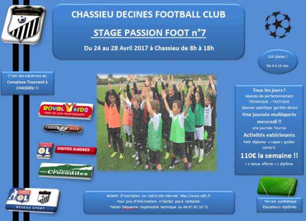 Stage - CHASSIEU-DECINES FC organise