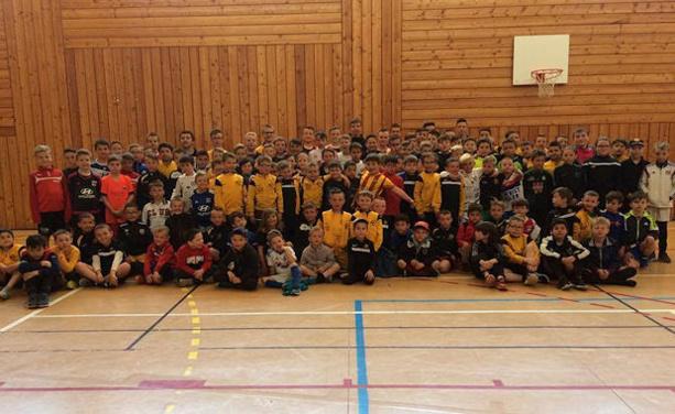 HAUTE-BREVENNE FOOT - Cent-trente enfants pour la vingt-deuxième !