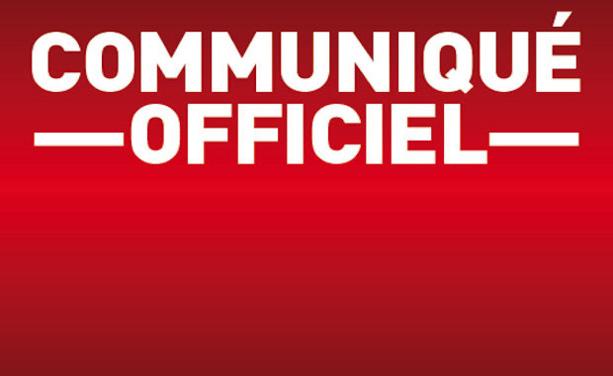 Sanctions US VÉNISSIEUX - Le club communique...