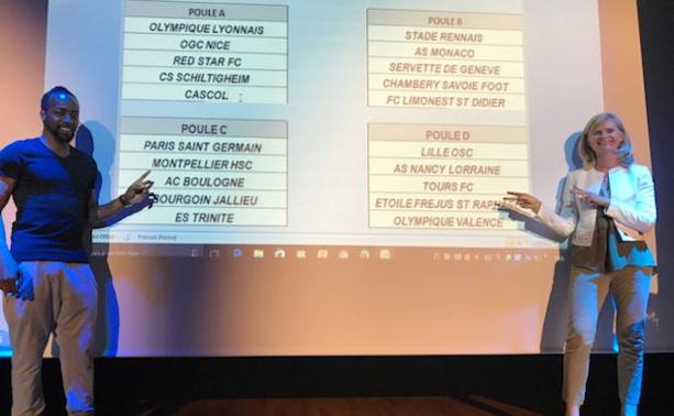 Sidney Govou et Marie-Hélène Matthieu on concocté un beau premier tour avec deux Poules déjà compliquées pour leurs protagonises