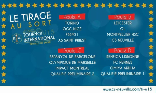 """U15 - Challenge PIANA Neuville - C. DOLCE : """"L'ambition de proposer du jeu..."""""""
