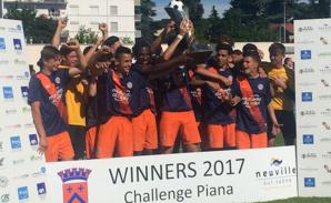 Le Montpellier HSC, vainqueur pour la première fois à Neuville