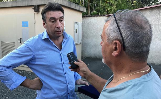 Bertrand Paris répond au question de la presse après l'Assemblée Générale