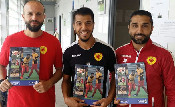 Karim Mokeddem, Sofiane Atik et Ahmed Aït Ouarab garderont un souvenir de leur toute première saison en National