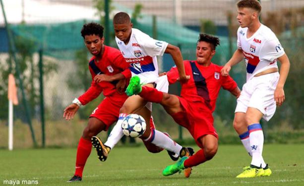U17 Nationaux - L'OL trop fort pour le FC LYON