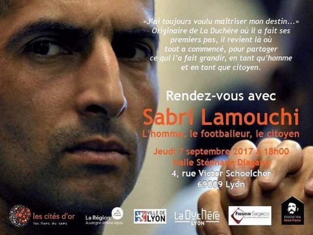 Lyon Duchère AS - Sabri LAMOUCHI de retour !