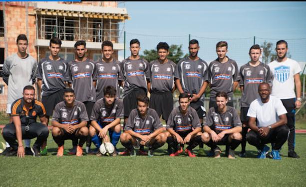 Les U19 B d'Ain Sud Foot