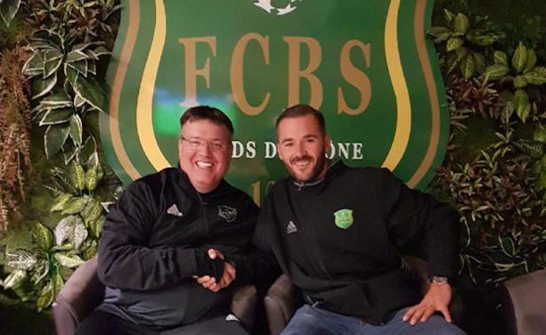 Pascal Rousset et Yann Obitz sont tombé d'accord hier soir sur le futur rôle du dirigeant de Sport Protech au FC Bords de Saône