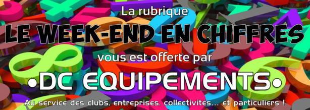 Le week-end en CHIFFRES - 32 minutes d'arrêts de jeu à COUZON, 250 SIFFLEURS à Vénissieux  !