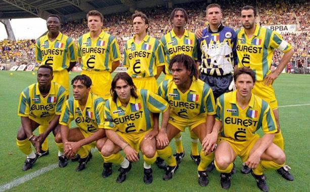 Le FC Nantes 94-95, peut-être la plus belle équipe française de tous les temps