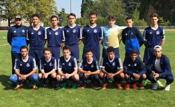 Le U19 du FC Saint-Cyr Collonges, qualifiés pour le troisième tour de la Coupe Gambardella Crédit Agricole