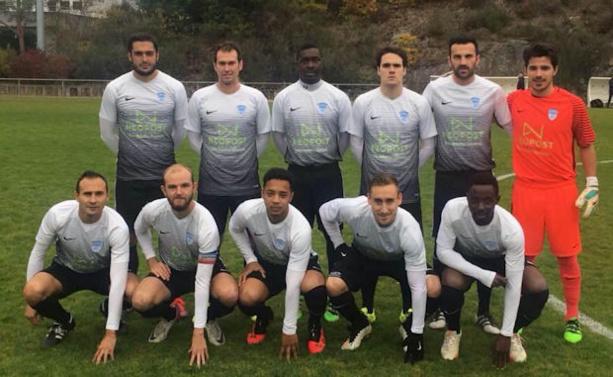 La réserve du FC Limonest-Saint-Didier, seule équipe rhodanienne a avoir réalisé la carton plien dans les championnats de ligue et meilleure défense toutes poules et niveaux confondus avec un seul but concédé (crédit photo : page facebook du club)