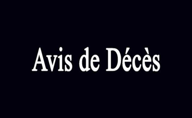 Avis de Décès - Le FC PONTCHARRA-SAINT-LOUP endeuillé