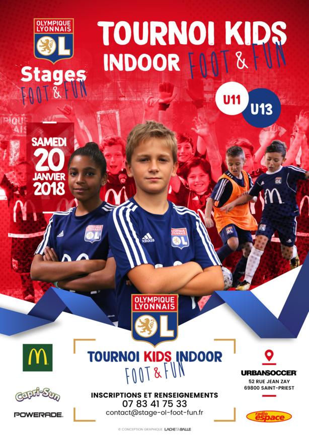 Tournoi U11-U13 - OL Foot&Fun organise en janvier