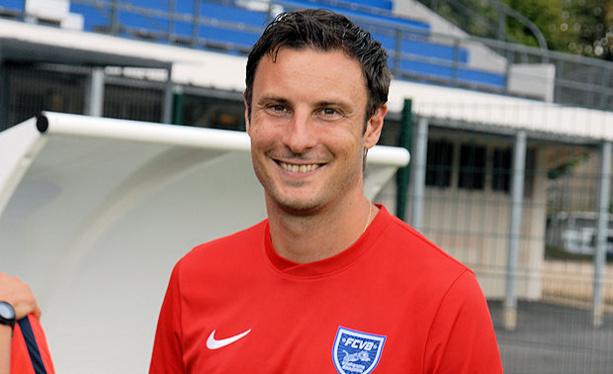 Yoann Vivier, entraîneur de la réserve du FC Villefanche.
