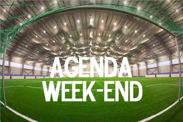 Agenda (FFF&Ligue) - Au programme ce week-end