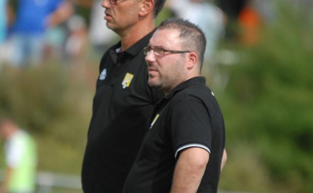 Cédric Voisin, l'entraîneur du FC Val Lyonnais