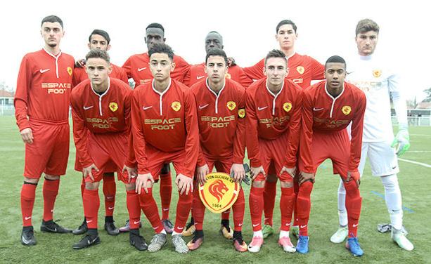 Les U19 de Lyon-Duchère AS se sont rachetés.