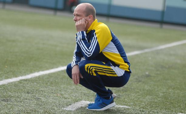 Fred Tricaud, l'entraîneur de l'ES Lieguoise (photo d'archive)