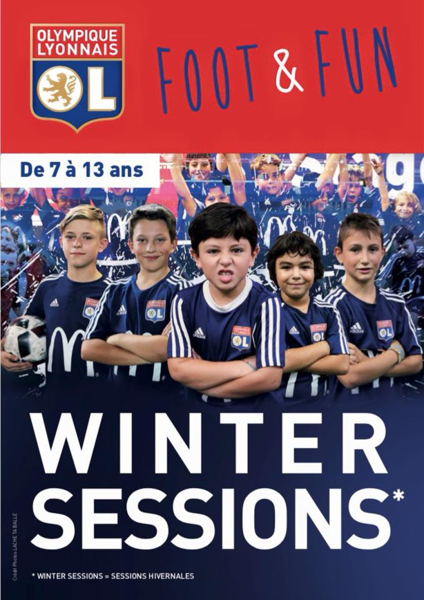 Stage Jeunes - OL FOOT&FUN propose les WINTER sessions