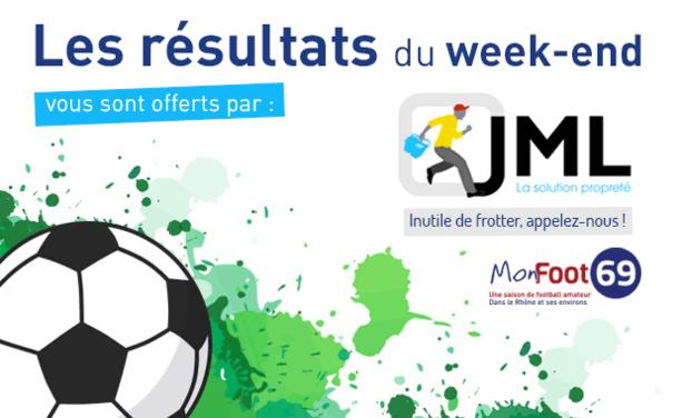 Live Score week-end - Tous les RESULTATS et les BUTEURS de la coupe du Rhône.