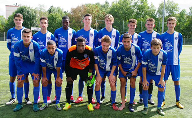 Les U19 du FC Villefranche