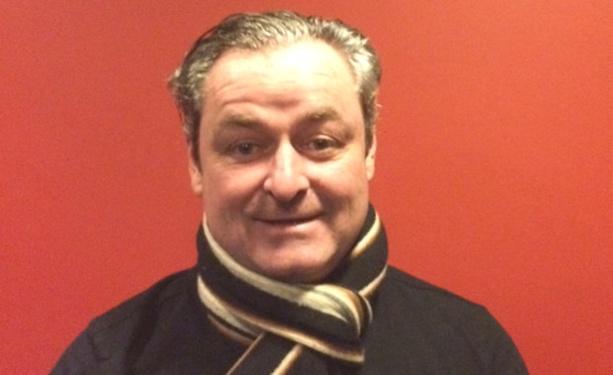 Laurent Couragier, le nouveau président du Caluire SC