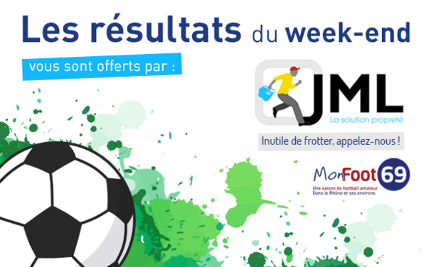 Live Score (FFF&Ligue) - Les RESULTATS ET BUTEURS du week-end.