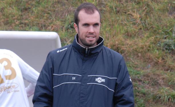 Sébastien Roche, l'entraîneur du CS Méginand