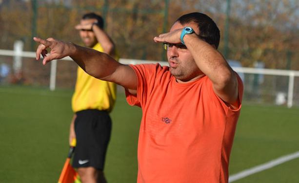 Fabrice Brossat, le co-entraîneur du CS Méginant