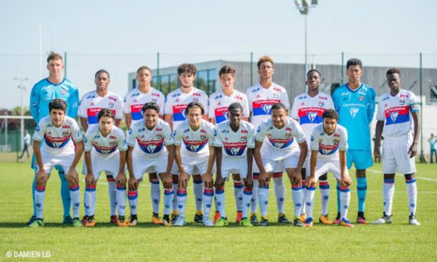 U17 Nationaux - L'OL perdant mais se qualifié pour les play-offs