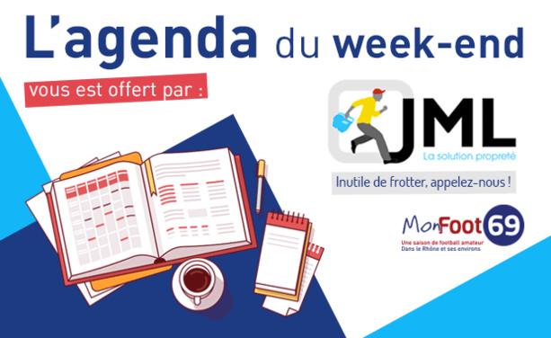 L'Agenda - Au programme ce week-end sur les terrains du 69