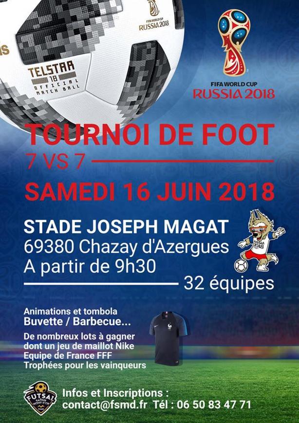 Tournoi de sixte - FSMD organise le 16 juin à CHAZAY