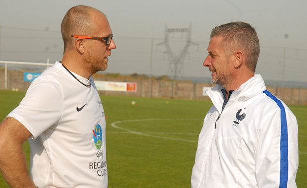 Sylvain Richard (à droite) en compagnie de Sylvain Maupas