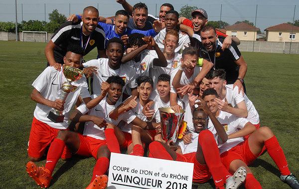 Lyon-Duchère AS S'est offert une nouvelle coupe chez les jeunes