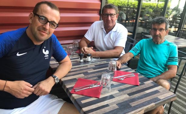 Tournois jeunes - G. MAGAT, S. CONSEIL et P. PAYSANT se sont rencontrés