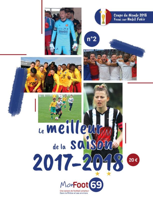 Livre d'Or MONFOOT69 - Découvrez la couverture du numéro 2 (saison 2017-2018)