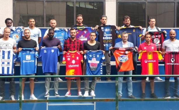 Tous les capitaine des équipes étaient réunis à la FFF en début de semaine pour une réunion de préparation du championnat de N1