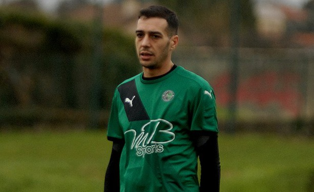 Samir Benslimane, l'entraîneur de l'AS Villefontaine