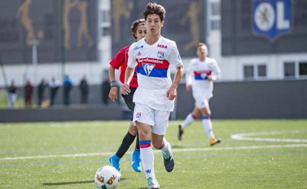Florent Da Silva, auteur de cinq buts samedi lors du festival de U17 de l'OL contre le FC Montceau