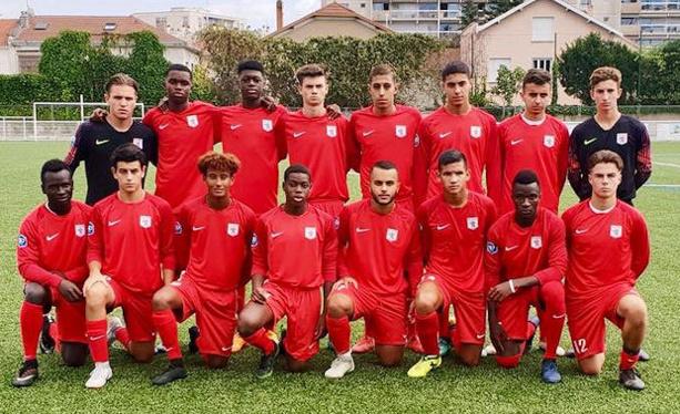 Les U17 du FC Lyon sont seuls leaders du groupe C du championnat national U17