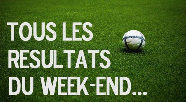 Live Score week-end - Coupes de FRANCE, LAuRA, du RHONE, les RÉSULTATS et les BUTEURS...