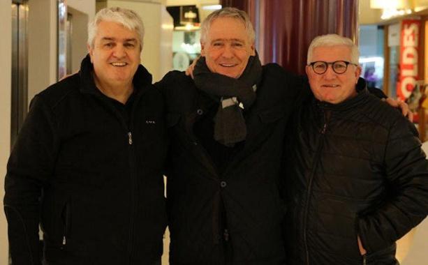 Jean-Pierre Mallozzi, Gérard Bonneau et Guy Rasper